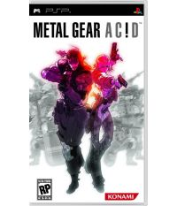 Metal Gear Ac!d [Essentials] (PSP)
